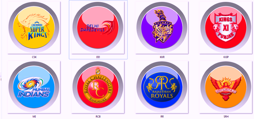 ipl 8 point table