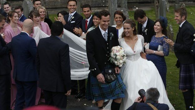 kim and murray marriage pics