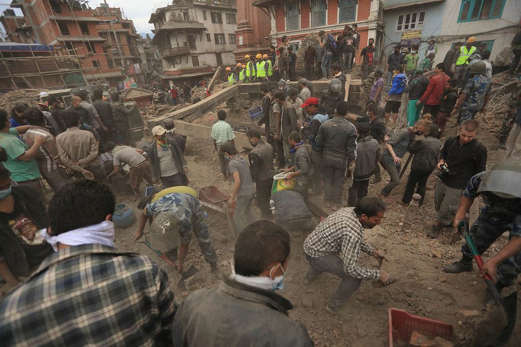 Nepal Earthquake Death Tolls Increased to 5006