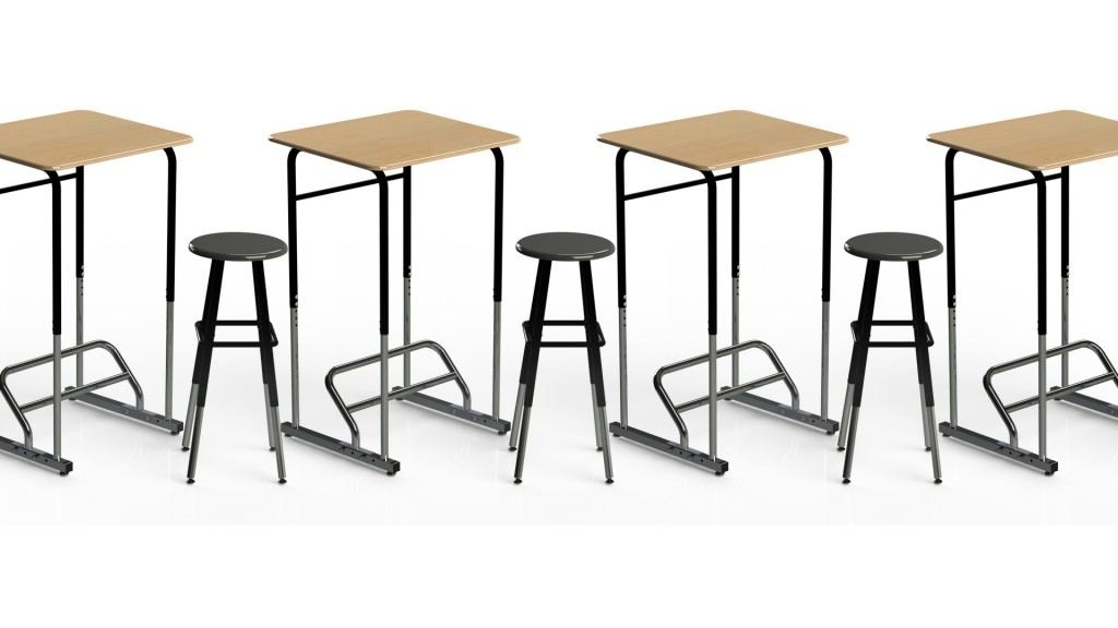 Standing Desk Helps Students to be More Attentive