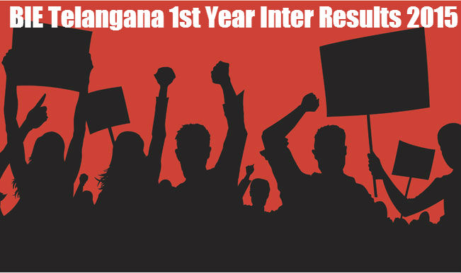Telangana Board BIE Inter First Year Result 2015