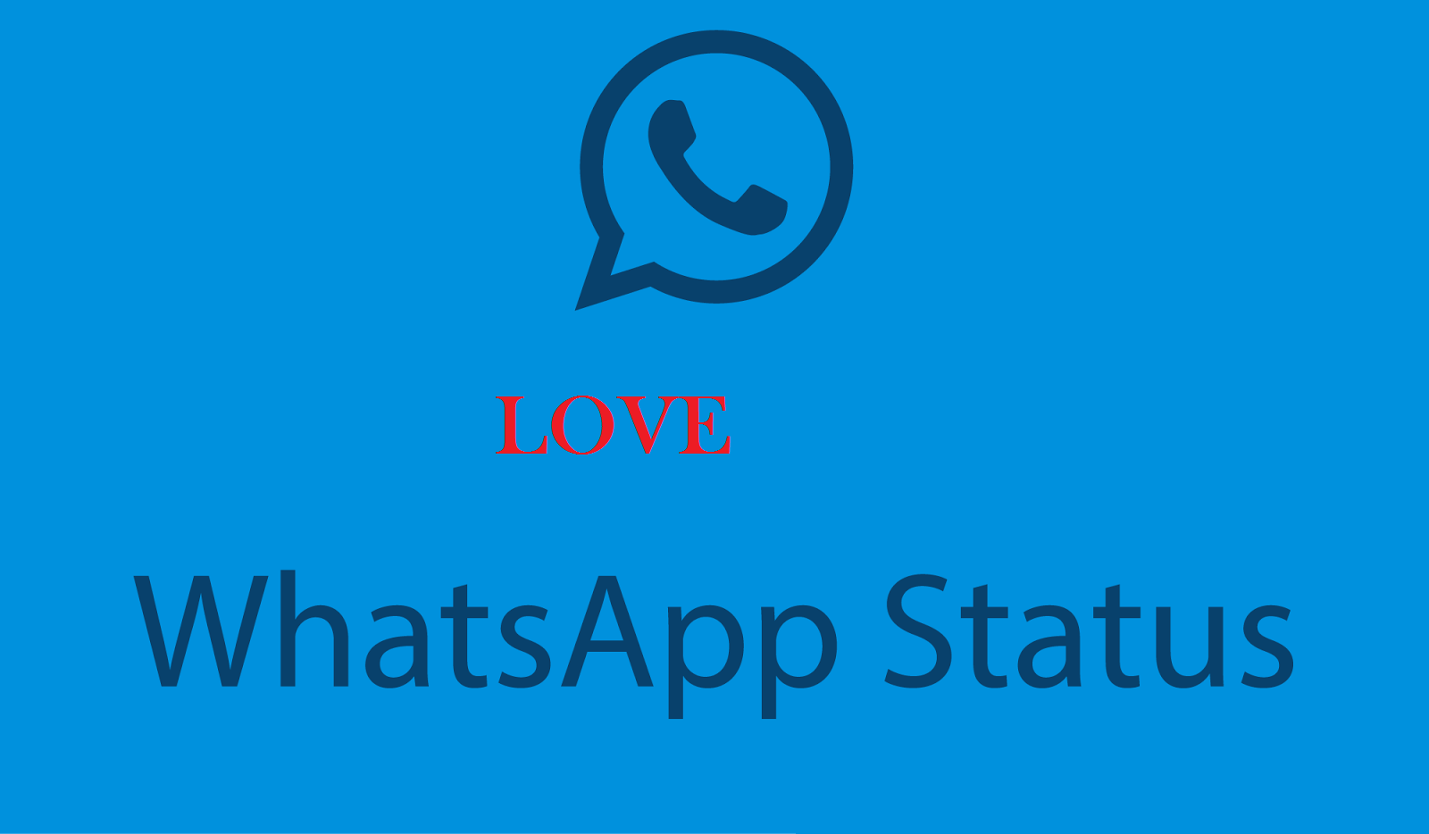 love whatsapp status