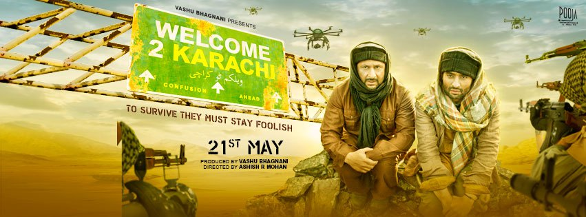 Watch Welcome to Karachi Movie Official Hd Video Theatrical Trailer