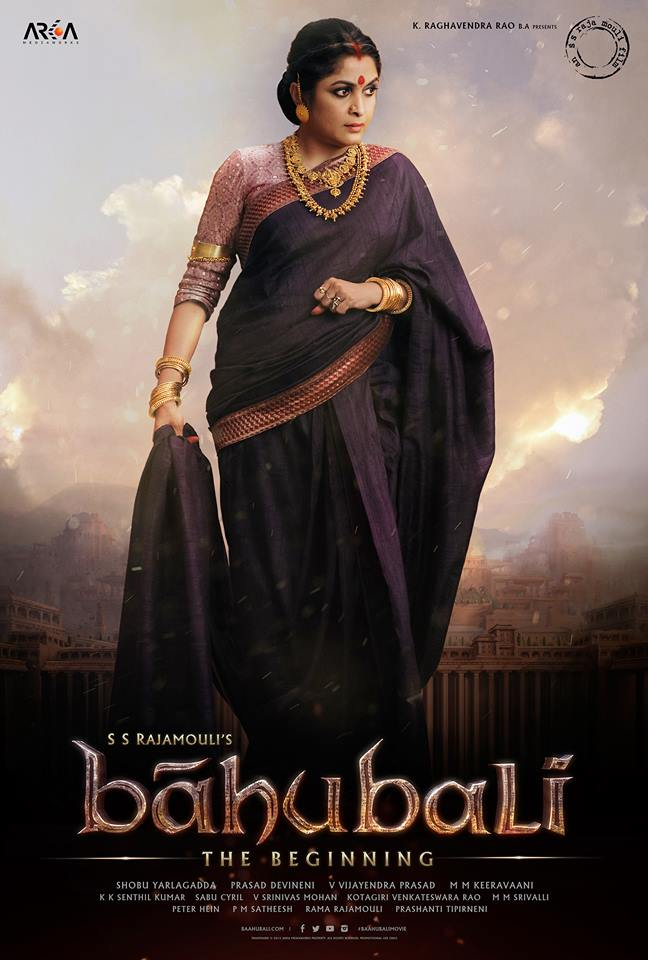 Ramya Krishnan Appears as Sivagami in New Poster for 'Baahubali'
