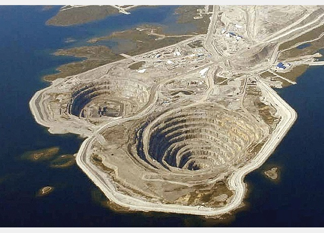 Mirny Diamond Mine – Eastern Siberia, Russia