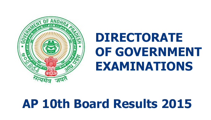 Andhra Pradesh SSC 10th Class Examination Result 2015 Date Time