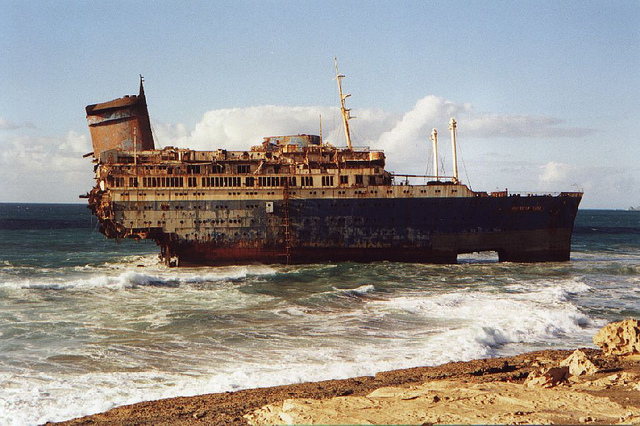Wreck of the SS America – Fuerteventura, Canary Islands
