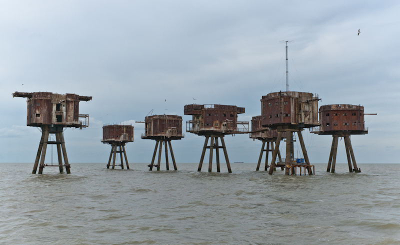 Red Sands Sea Forts – Sealand, United Kingdom