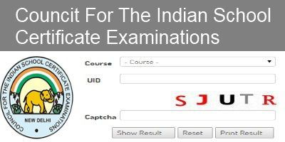 CISCE-Class XIIth-Exam-Results