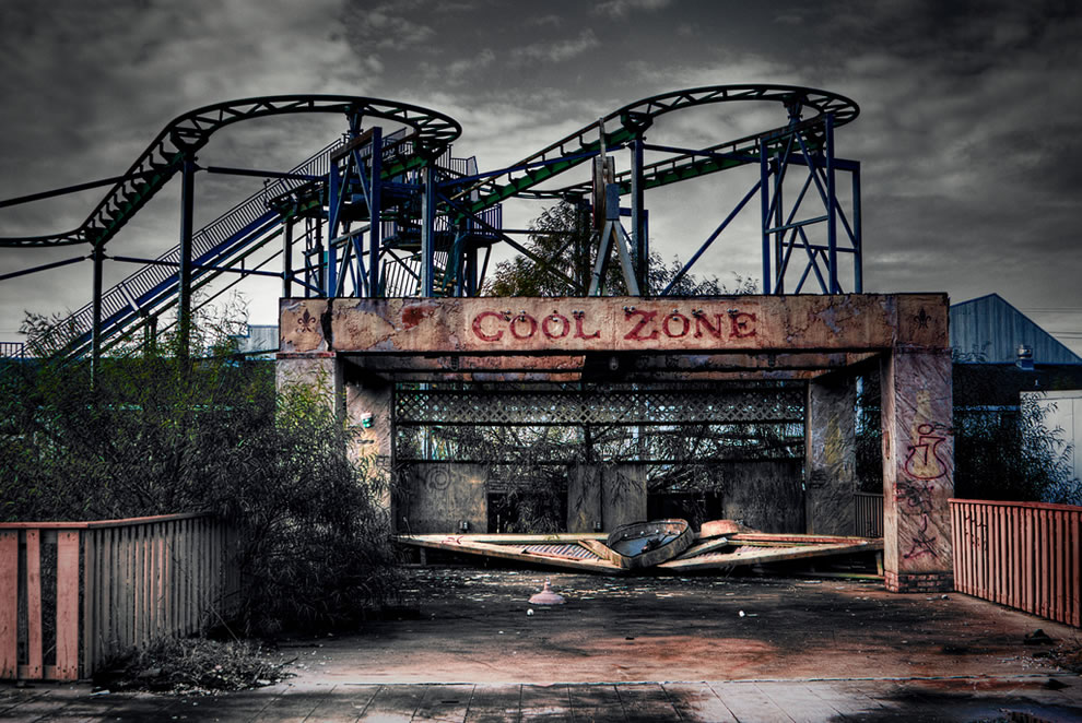 Six Flags Jazzland – New Orleans, Louisiana