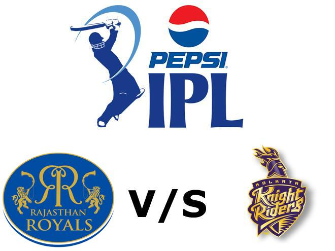 IPL 8 RR Vs KKR Match Live Score Playing 11 Team Squad Scorecard Details