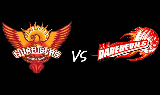 Ipl 8 SRH Vs DD Match Live Score Today Playing Team Squad Scorecard 2015