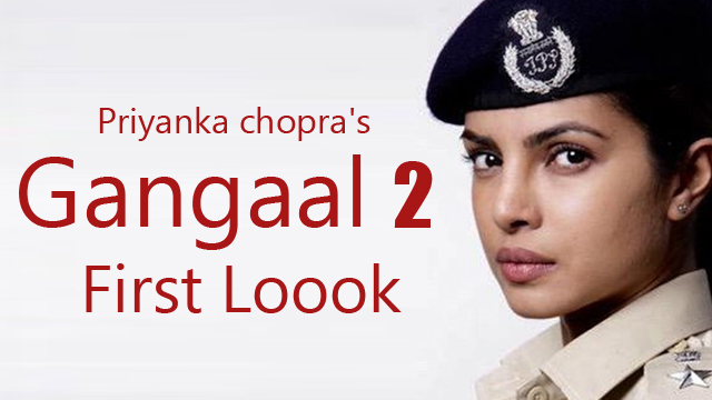 Priyanka Chopra First Look In Gangaajal 2 As a Cop
