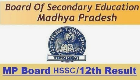 MP Board HSSC Class 12th XII Result Announced MPBSE mpresults.nic.in
