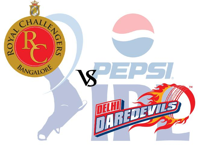 RCB vs DD match 55
