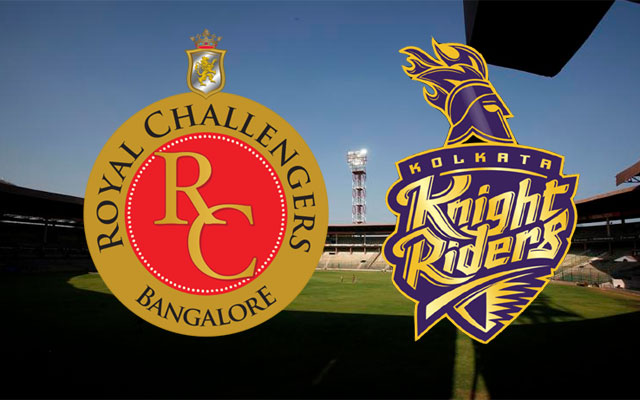 RCB vs KKR match 33