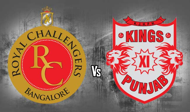 RCB vs KXIP match 40
