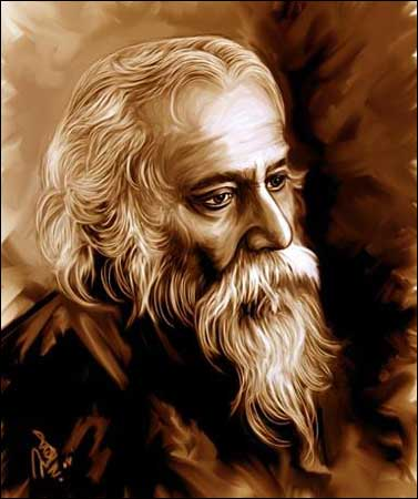 Rabindranath Tagore Jayanti Quotes Sayings SMS Images FB Status Whatsapp DP