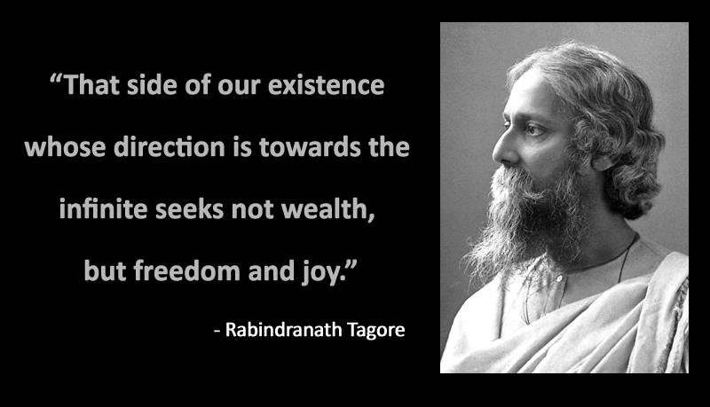 Rabindranath Tagore Jayanti Quotes Sayings SMS Images FB Whatsapp DP