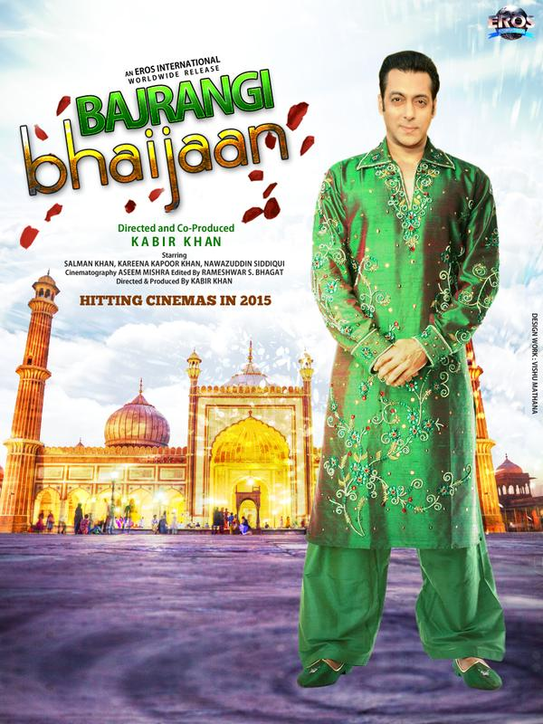Salman Khan Bajrang Bhaaijan Movie 1st Poster Released