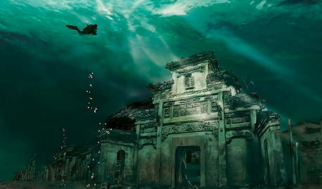 Underwater City – Shicheng, China