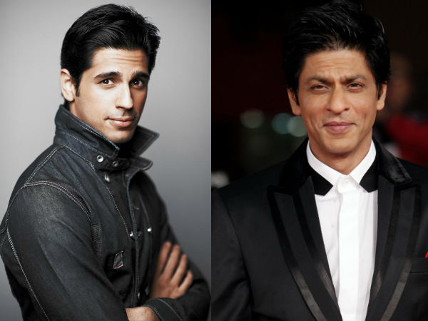 Sidharth watches srk movies