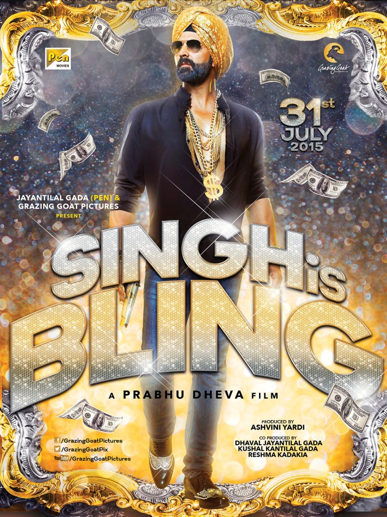 Singh-is-bling-movie posters