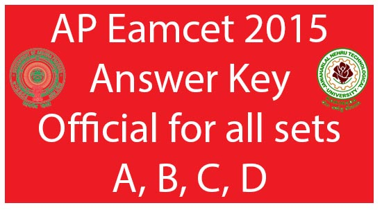 TS EAMCET-Answer-Key-2015-Released