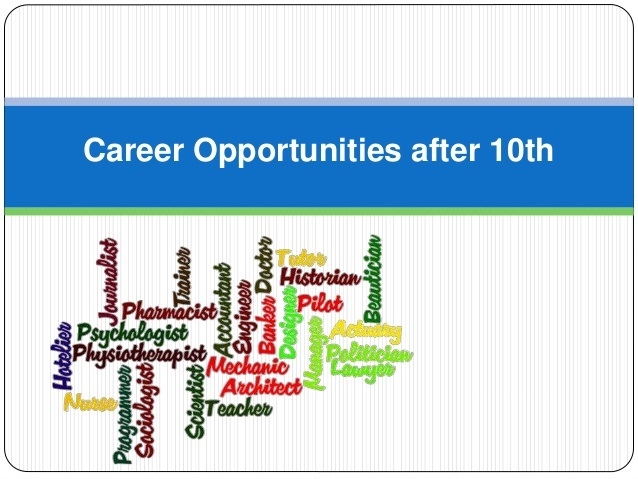 Best career options after 10th