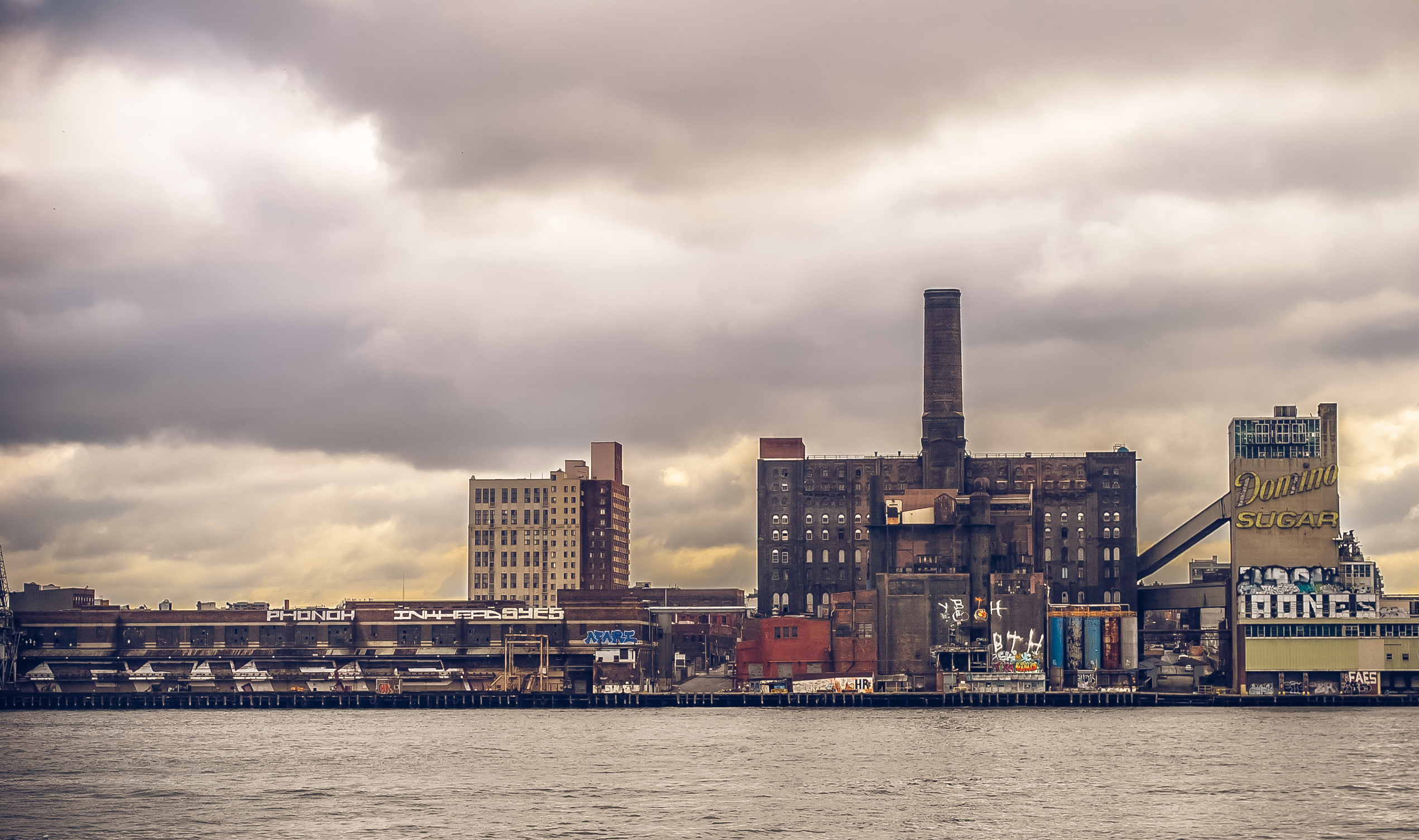Abandoned Domino Sugar Factory — Brooklyn, New York
