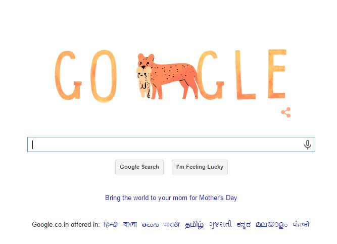 Google Doodle Animated logo Honors Mothers day 2015