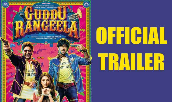 Watch Guddu Rangeela Movie Theatrical Hd Video Official Trailer