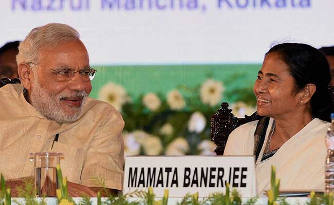 Prime Minister Narendra Modi Meets with West Bengal Chief Minister Mamta Banerjee