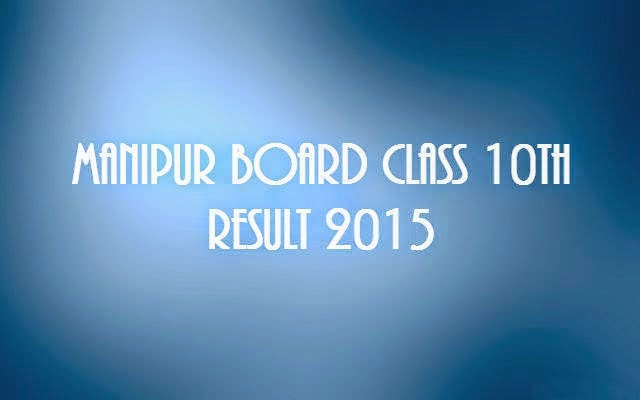 Manipur-Board-HSLC-Class10th-Results-2015