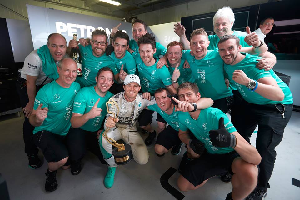 Monaco Grand Prix F1 2015 : Nico Rosberg Wins Race After Lewis Hamilton