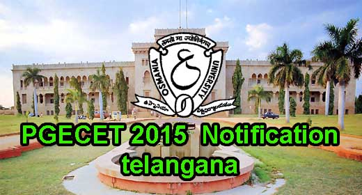 Telangana PGECET 2015 Admit Card TS Hall Ticket tspgecet.org