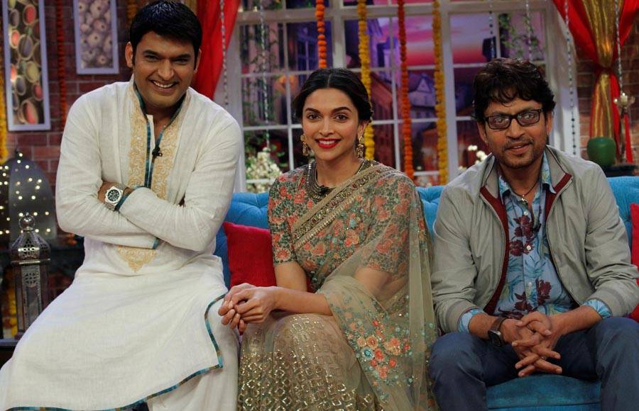 CNWK With Piku Movie team Deepika Irrfan khan 5 May 2015 Ep. Hd Video
