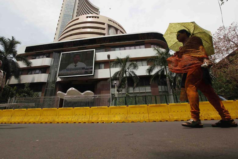 Sensex up 506, Nifty close to 8,200-level Government to Stable Tax Regime