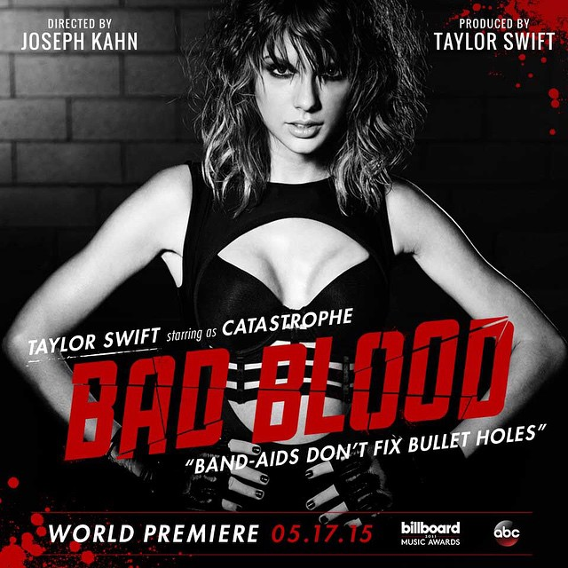 Taylor Swift Releases Video for 'Bad Blood' at Billboard Music Awards