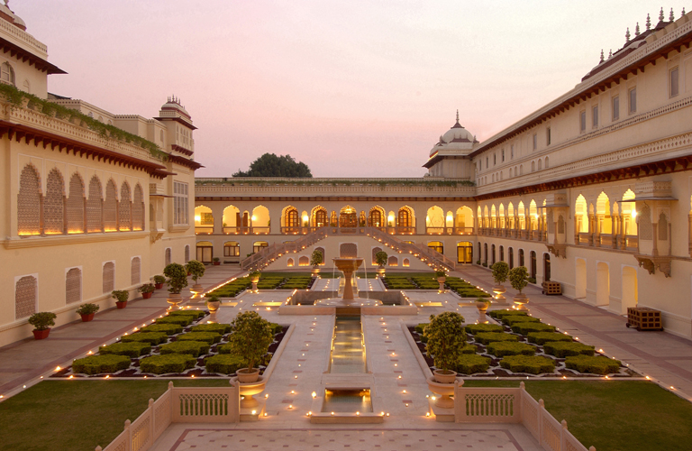 Rambagh Palace, Jaipur, India