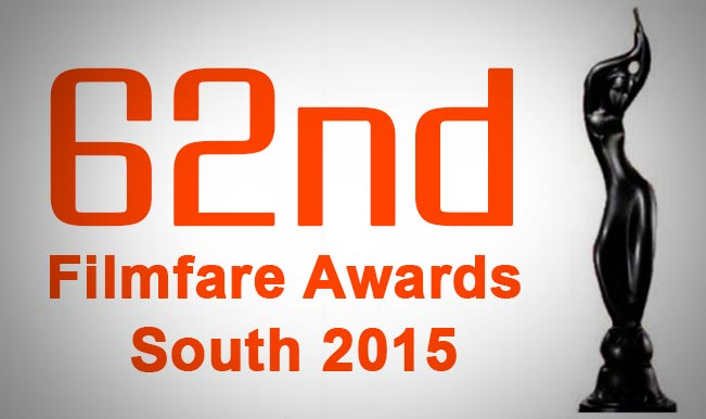 62nd Filmfare Awards South 2015 Winners