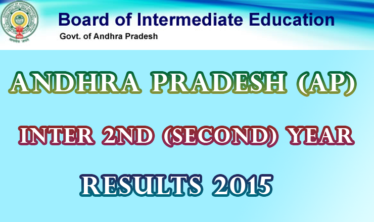 AP Andhra Pradesh Intermediate 2nd Year Supplementary Exam Result 2015 Manabadi
