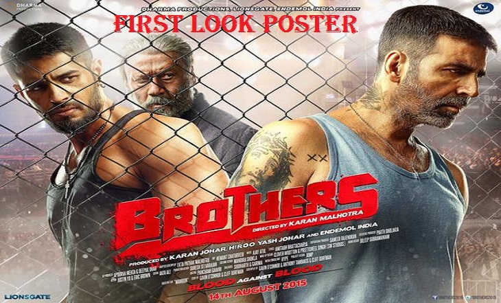 Brothers Movie First Look Poster Released Trailer Is Coming Soon