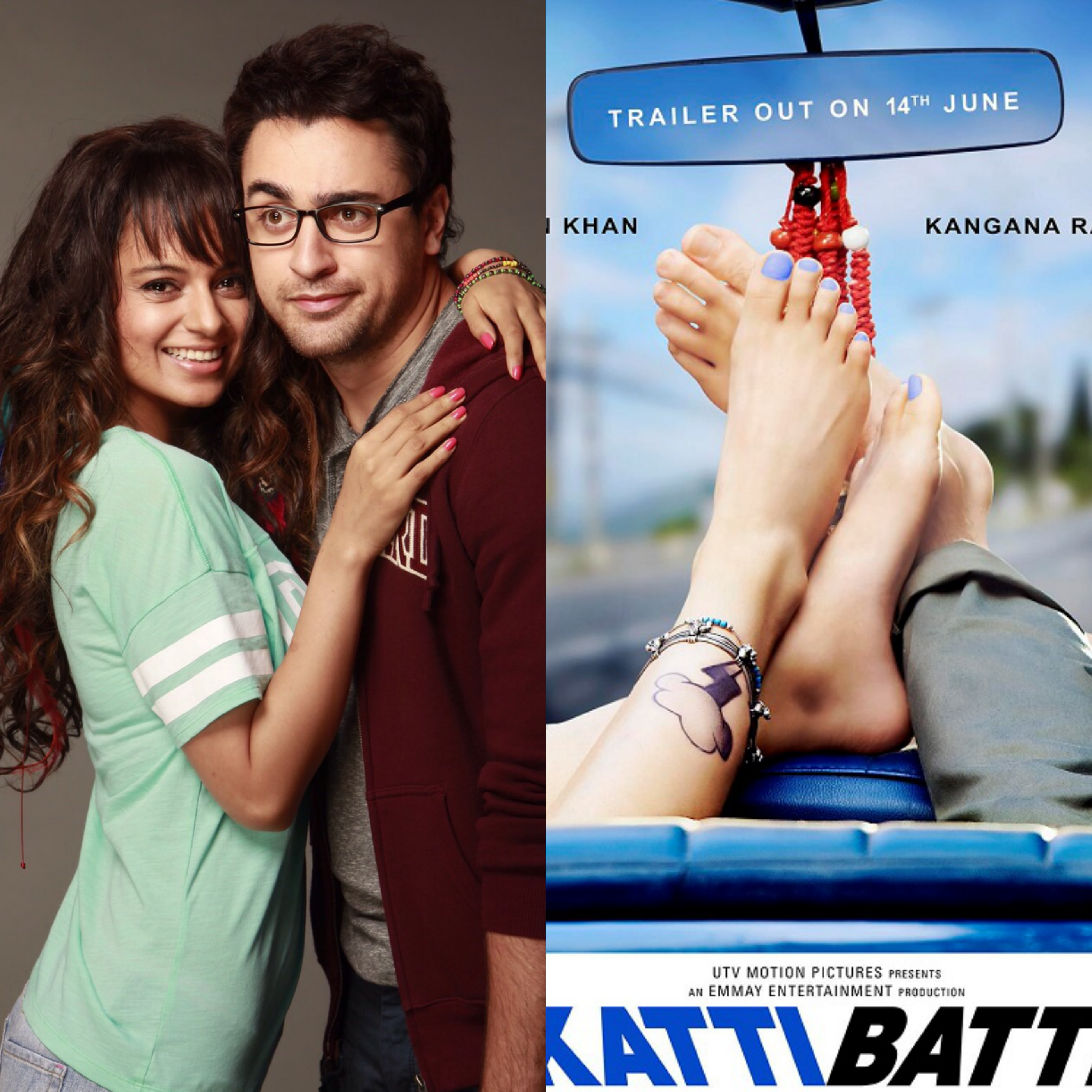 First Poster of Katti Batti