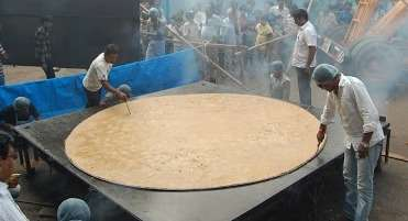 World's Largest Chapati