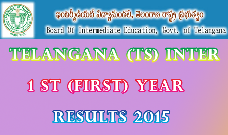 TS Telangana Intermediate 1st Year Supplementary Exam Result 2015 bie.telangana.gov.in Manabadi Schools9