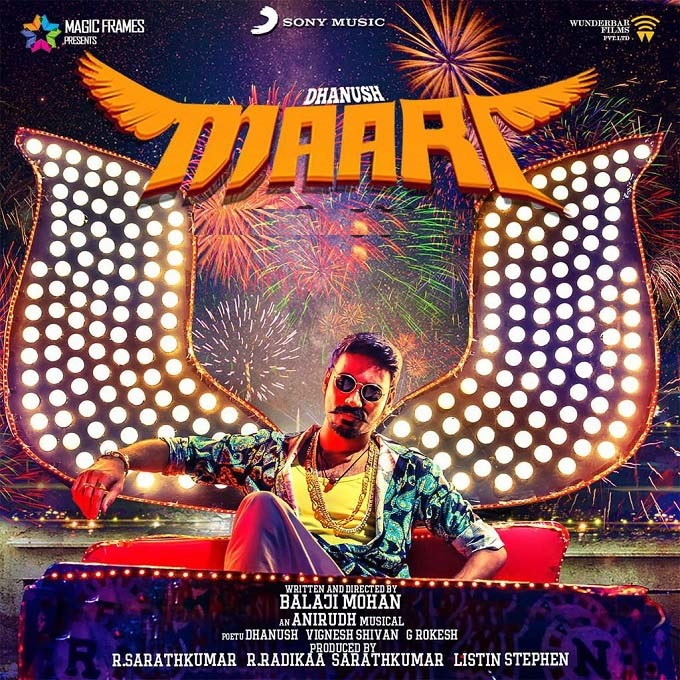 Tamil Superstar Dhanush Penned Down The Lyrics Of Maari Film