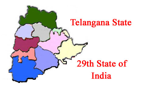 Telangana Formation Day 1st Anniversary Today