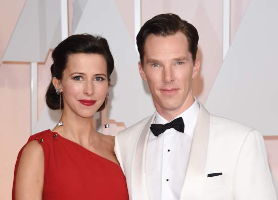 Hollywood Actor CumberBatch & Sophie Hunter Bless With Baby Boy