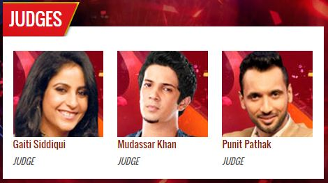 Zee TV Dance India Dance Season 5 Opening Ceremony Contestants Name Judges
